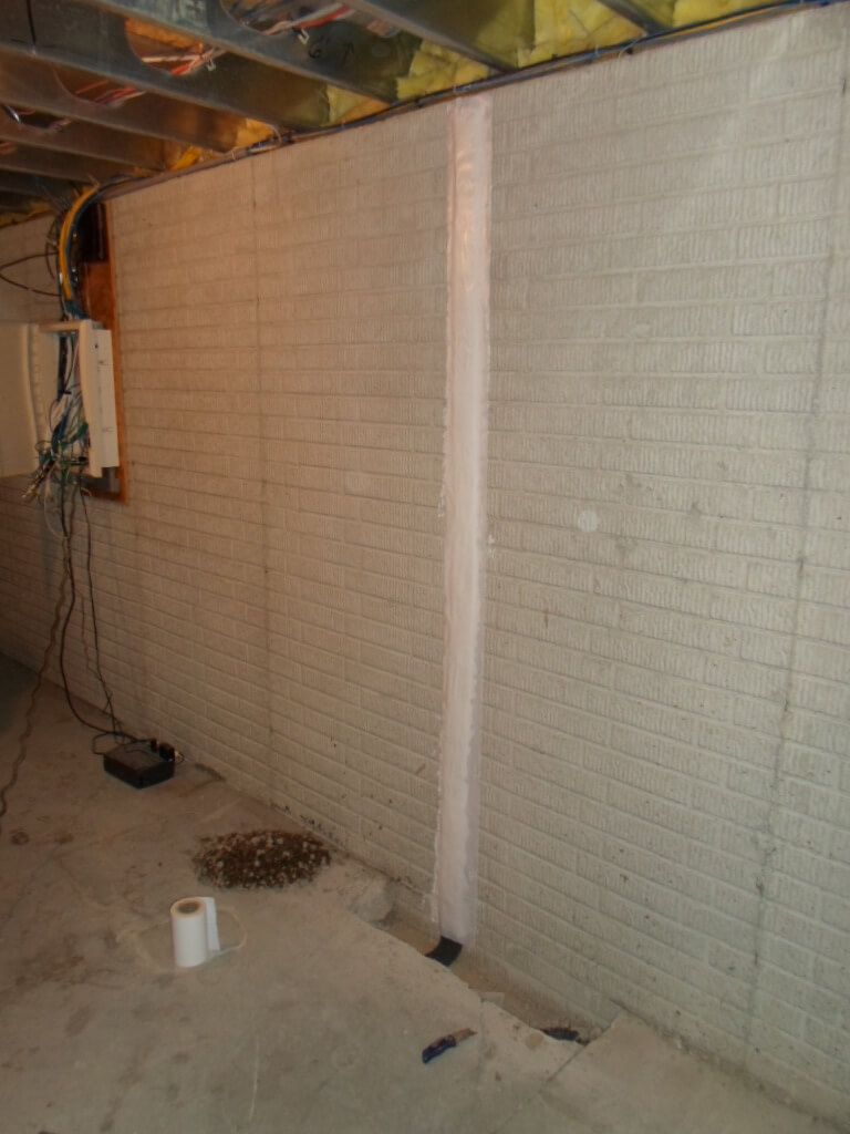 Basement & Crawl Space Crack Repair Services | SouthernDry