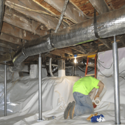 Crawl Space Stabilization | Sagging Floors | SouthernDry of Alabama