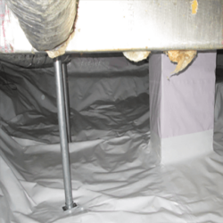 Crawl Space Stabilization | PowerPost Installation | SouthernDry of Alabama