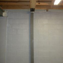 Bowing Basement Wall Repair | The Force | SouthernDry of Alabama