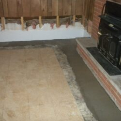 Interior Waterproofing Installed | Finished Basement | SouthernDry of Alabama