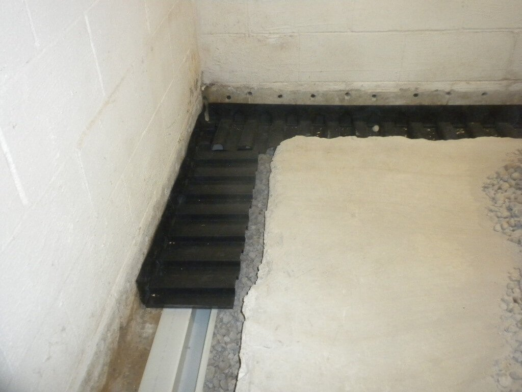 Interior Foundation Wall Waterproofing : Interior waterproofing southerndry alabama basement