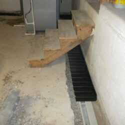 On The Footer Interior Basement Waterproofing System | SouthernDry Alabama