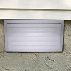 Outward Mounted Vent Cover Installed | Crawl Space | SouthernDry of Alabama