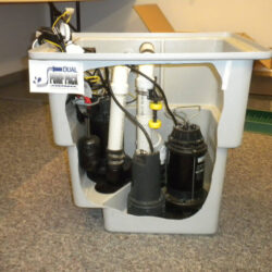 Dual Pump Pack | Square Sump Pump Basin | SouthernDry of Alabama