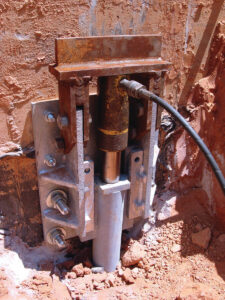 Brick Structural Piering | Helical Pier | SouthernDry | Alabama Foundation Repair