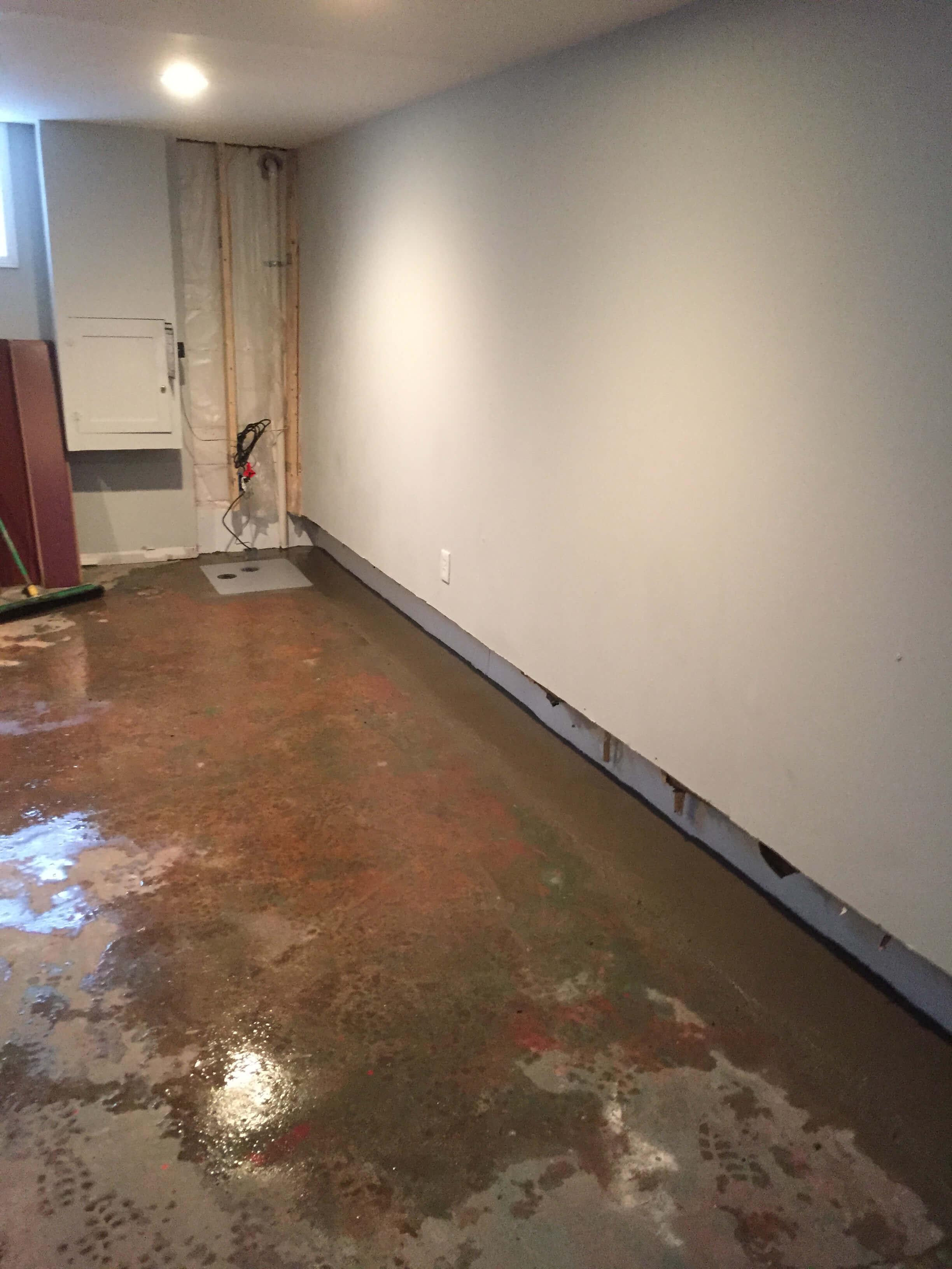 Basement Waterproofing Case Study In Riverside Alabama