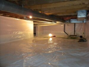encapsulation helps get rid of bad smells coming from the crawl space