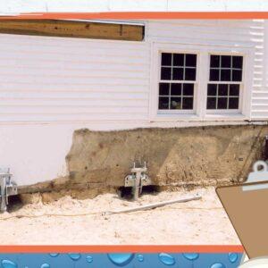 helical pier foundation repair