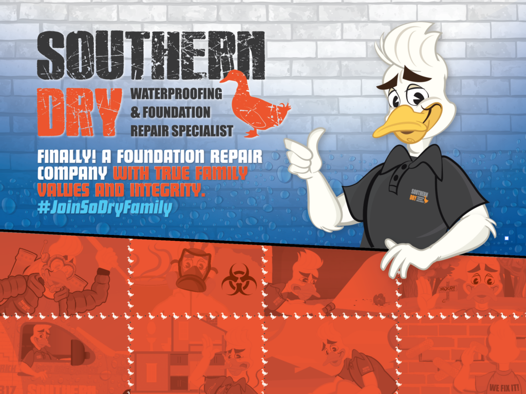 SouthernDry is a foundation repair company serving Alabama